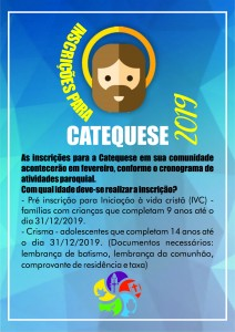 Catequese 2019