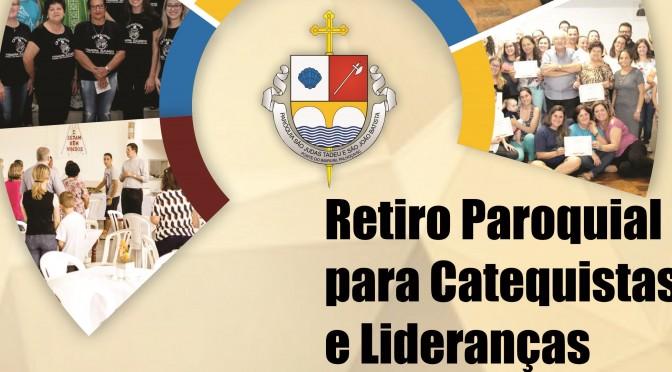 Retiro de Lideranças e de Catequistas - Copia