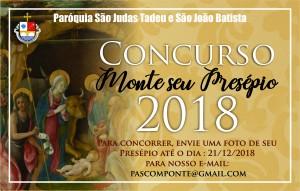 Concurso Presépio 2018b