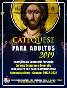 Catequese de adulto 2019