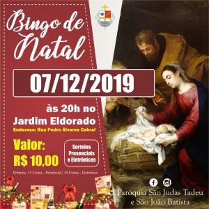 Bingo - Cestas de Natal - Chamada