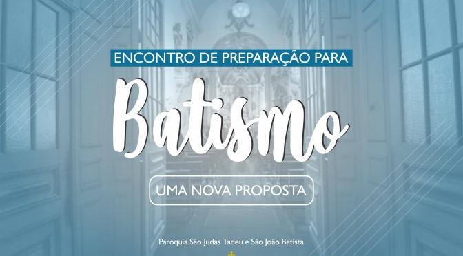 Encontro de Preparação para o Batismo